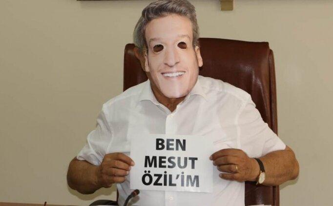 Zonguldak'ta Mesut Özil için yürüyüş