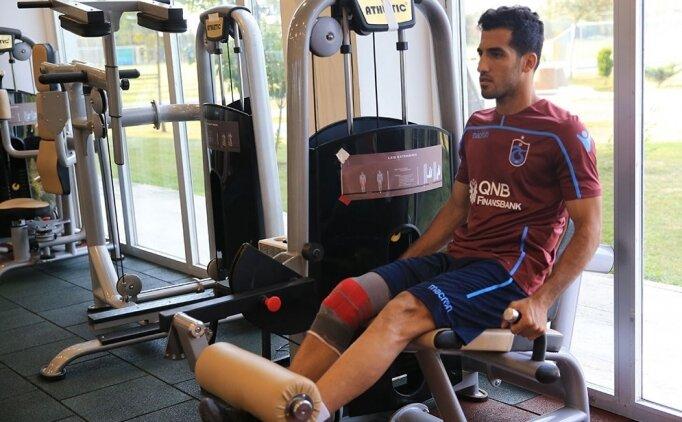 Trabzonspor'un yeni transferi Amiri sakatlandı!