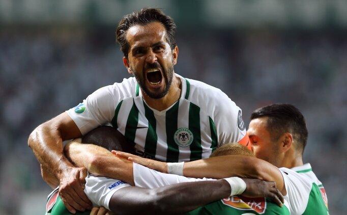Tam bir gol düellosu! Konyaspor galip...