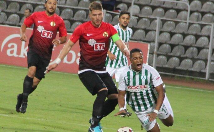 Giresunspor, Eskişehirspor'u devirdi