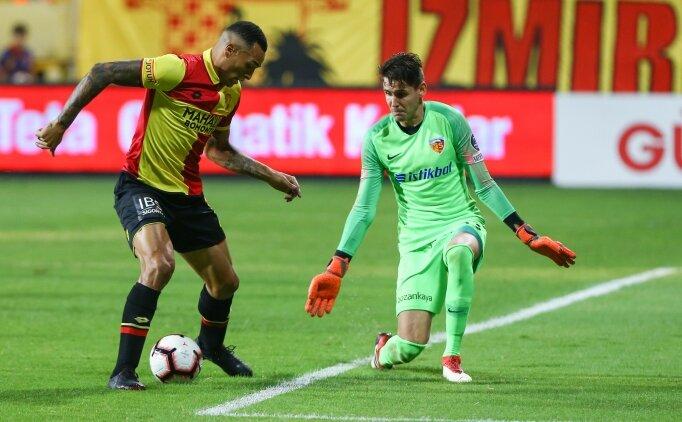 Göztepe, Kayserispor'u 20 dakikada geçti!
