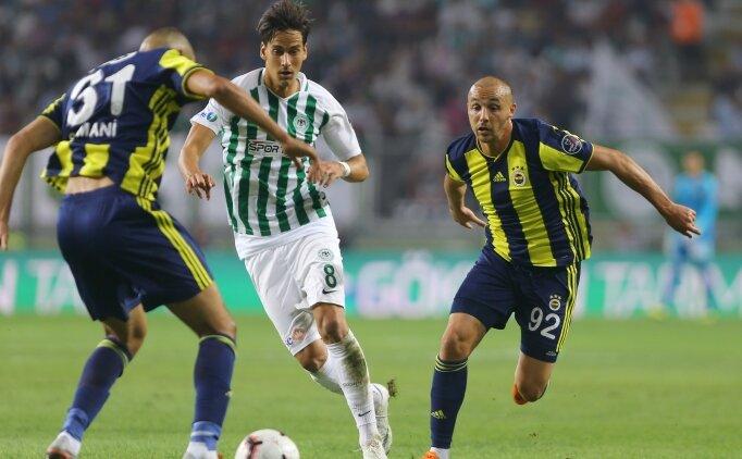 Konyaspor Fenerbahçe özet izle, Canlı skorlar Fenerbahçe Konyaspor