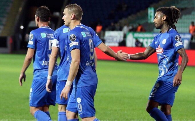 Rizespor Ukraynalı golcüsüyle turladı