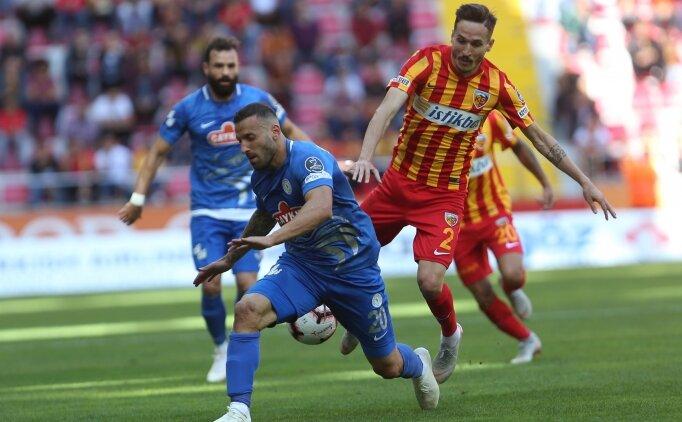 Kayseri'de 4 gol, 2 kırmızı, 1 penaltı