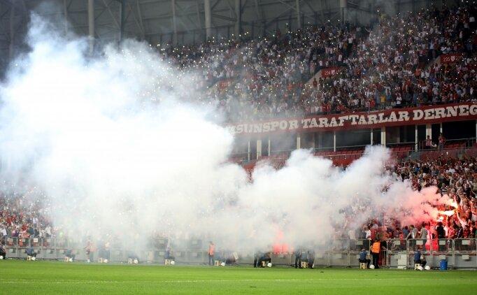 Samsunspor, Süper Lig'de 7 takımı geçti
