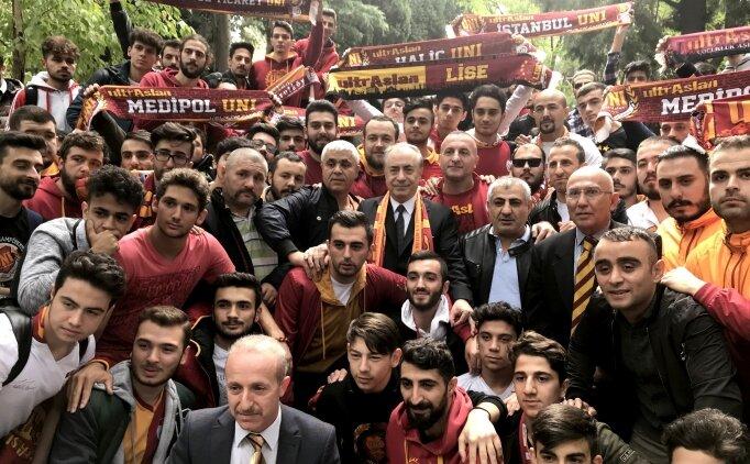 Mustafa Cengiz'den Ali Sami Yen ve Seba'ya ziyaret