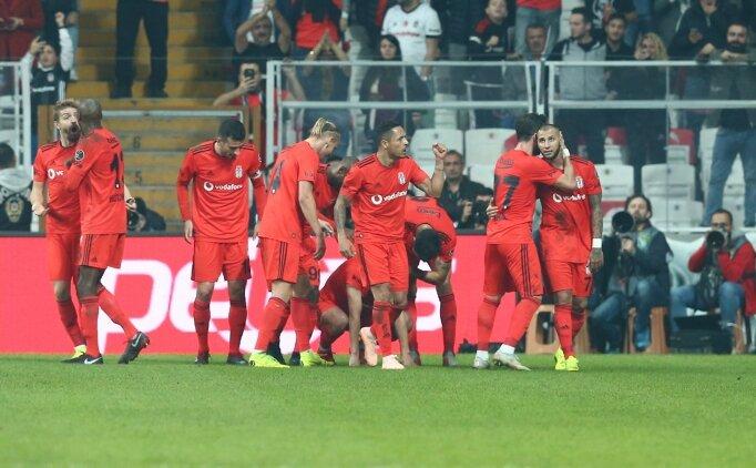 Beşiktaş, evinde yara sardı: 4-1!