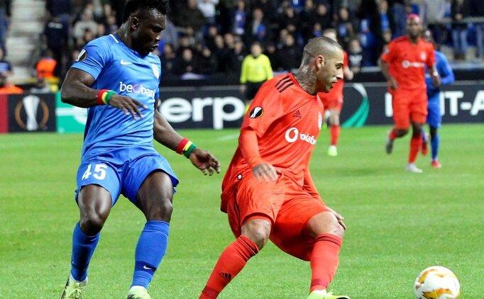Genk-Beşiktaş maçı Belçika basınında