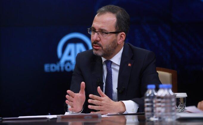 Bakan Kasapoğlu: 'Yeni bahis oranları gelecek'