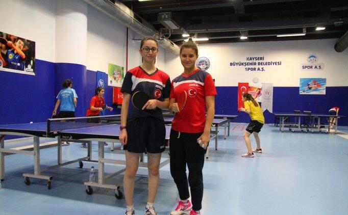 Genç masa tenisçilerin hedefi olimpiyatlar