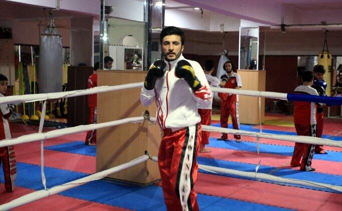 Milli kick boksçunun gözü dünya şampiyonluğunda