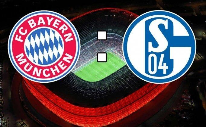 Bayern Münih Schalke 04 maçı CANLI hangi kanalda saat kaçta?