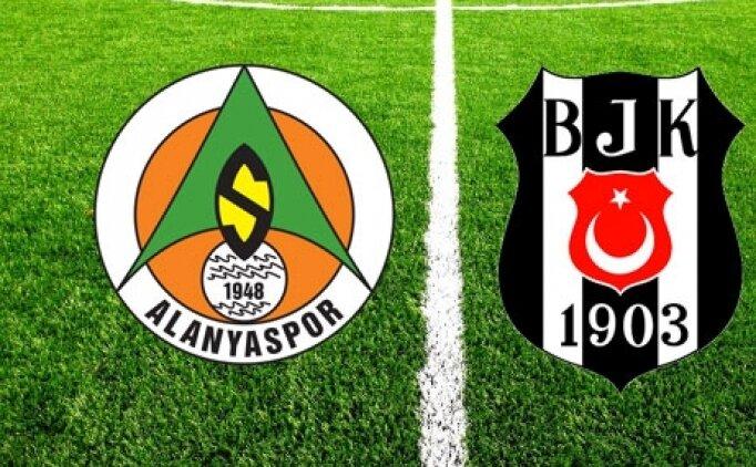 Alanyaspor Beşiktaş maçı canlı hangi kanalda saat kaçta?