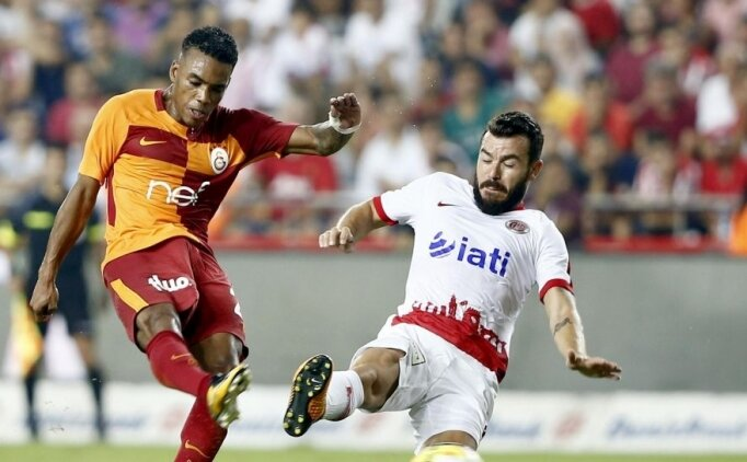 Galatasaray, Antalyaspor'a karşı zorlanıyor