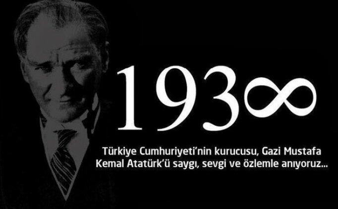 Atatürk ile ilgili 10 Kasım sosyal medya paylaşımları