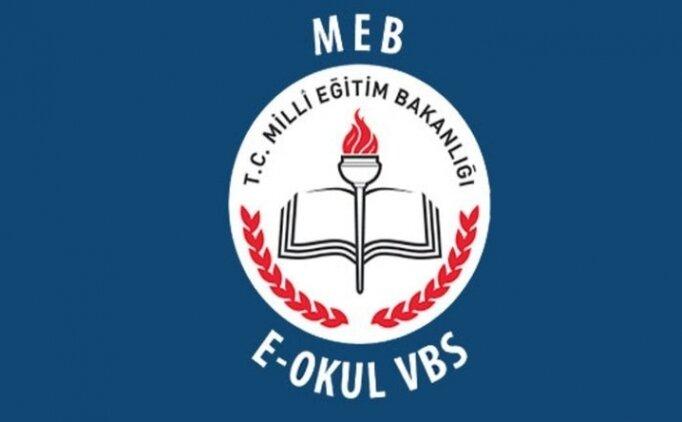 E Okul öğrenci girişi sayfası, Sınav sonuçları öğrenme E Okul Veli Bilgilendirme (VBS)