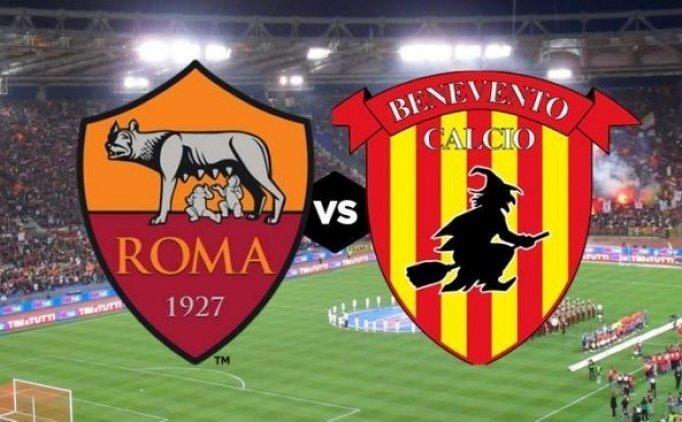 Roma Benevento maçı canlı hangi kanalda saat kaçta?