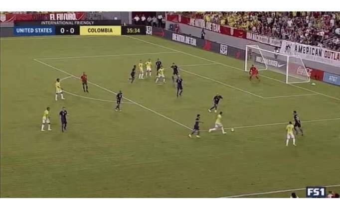 Yok böyle gol! James Rodrigues ne yaptın sen...