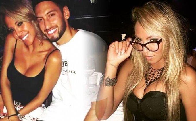 Hakan Çalhanoğlu boşanma arifesinde yabancı bir güzelle yakalandı!