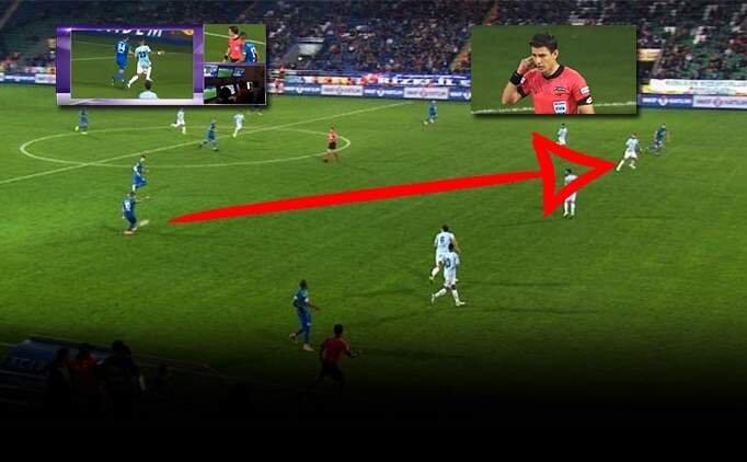Ç.Rizespor - Başakşehir maçında VAR tartışması