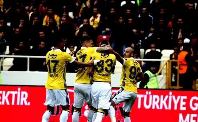 Fenerbahçe, Malatyaspor'u devirdi Yeni Malatyaspor Fenerbahçe maçı özeti