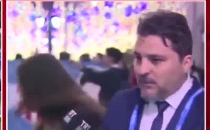 Rus taraftar canlı yayında TRT Spor yorumcusunu öperse...