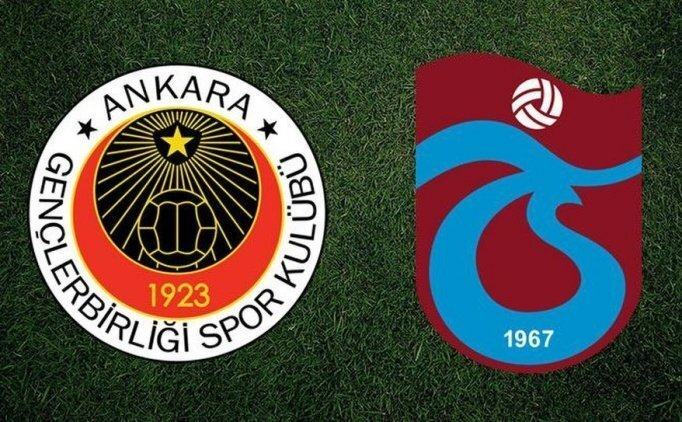 Gençlerbirliği Trabzonspor maçı CANLI hangi kanalda saat kaçta?