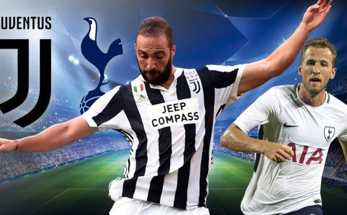 TRT 1'de hangi Şampiyonlar Ligi maçı yayınlanacak? Juventus Tottenham maçı kanalı