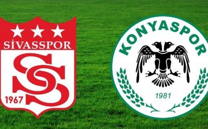 Sivasspor Konyaspor  maçı canlı hangi kanalda saat kaçta?
