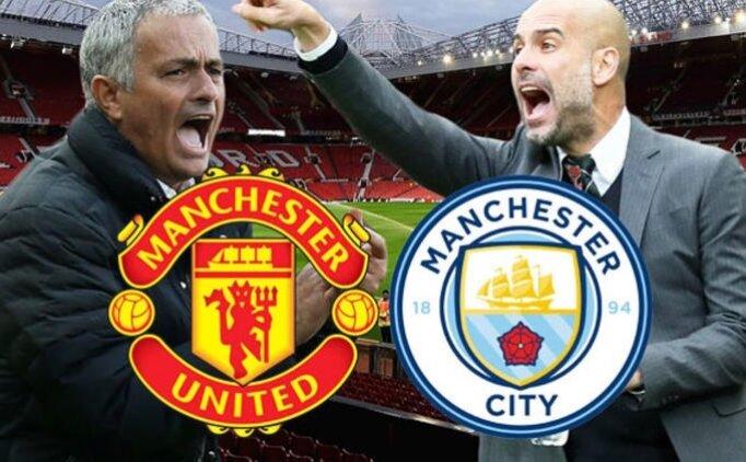 Manchester City Manchester United maçı canlı hangi kanalda saat kaçta?