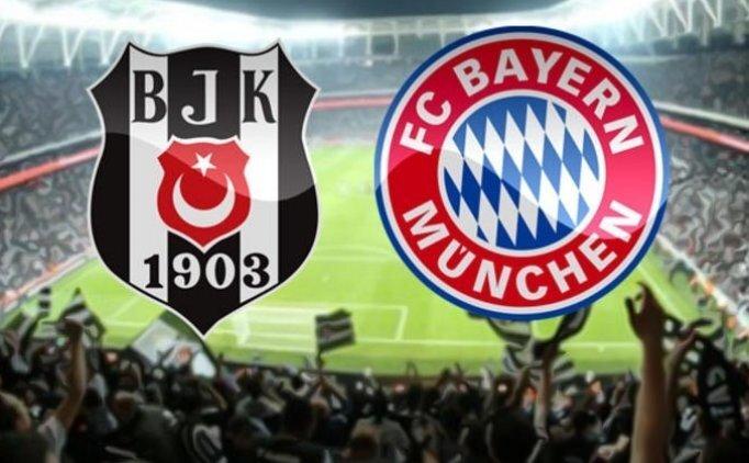 Beşiktaş Bayern Münih maçı saat kaçta başlayacak? Beşiktaş maçı saati