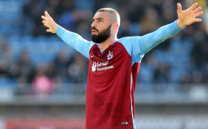 Trabzonspor'da Burak Yılmaz geri dönüyor