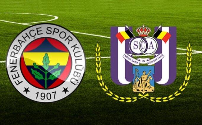 Fenerbahçe 2-0 Anderlecht maçı özeti izle