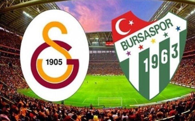 Galatasaray Bursaspor maçı ne zaman saat kaçta hangi kanalda?