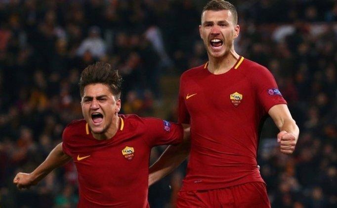 Cengizli Roma tek golle çeyrek finalde! Shakhtar...