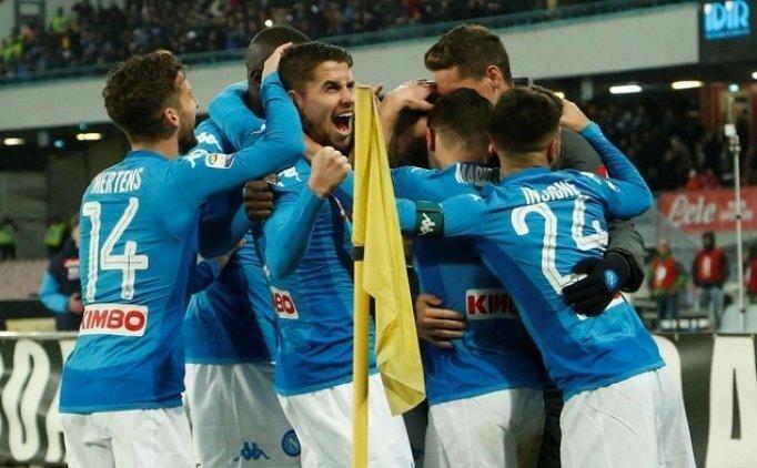 Lider Napoli 4 golle geri döndü! Lazio...