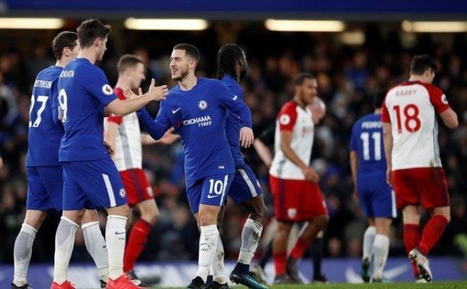 Chelsea, West Bromwich'e patladı! 3 gol...