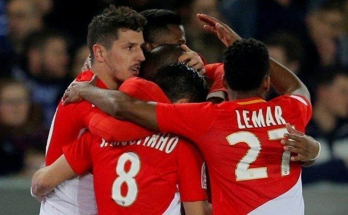 Monaco, Strasbourg'un fişini ilk yarıda çekti!