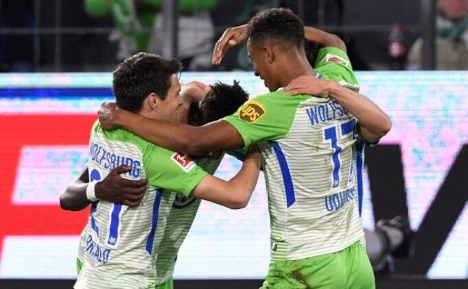 Yunus Mallı attı, Wolfsburg avantajı kaptı!