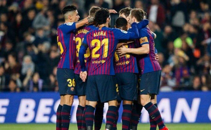 Barcelona gençlerle 4 attı, rahat turladı!