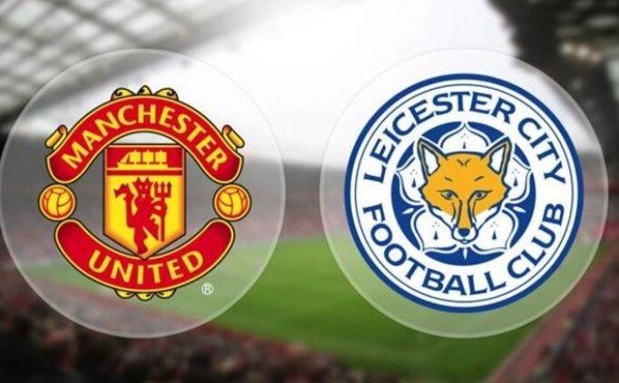Manchester United Leicester City maçı bugün saat kaçta hangi kanalda?