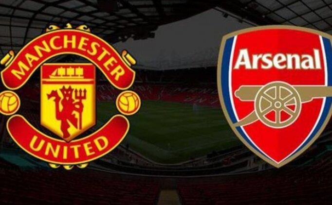 Manchester United Arsenal maçı canlı izle hangi kanalda? MANU Arsenal saati