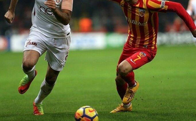 Kayserispor Galatasaray maçı canlı hangi kanalda saat kaçta?