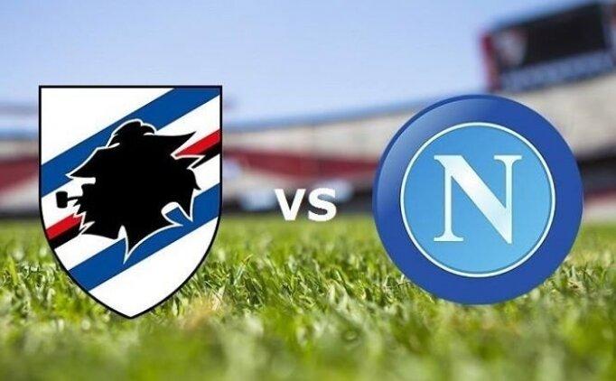 Sampdoria Napoli maçı canlı hangi kanalda saat kaçta?