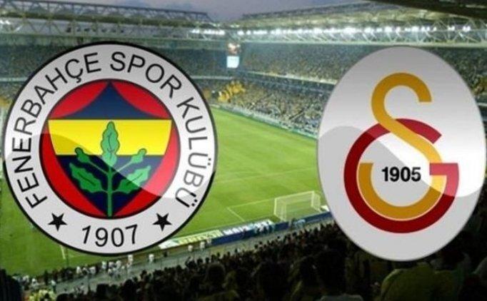 Fenerbahçe Galatasaray fikstür, Fenerbahçe Galatasaray puan durumu
