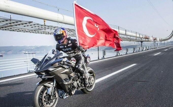 Kenan Sofuoğlu, F16'ya karşı yarışacak!