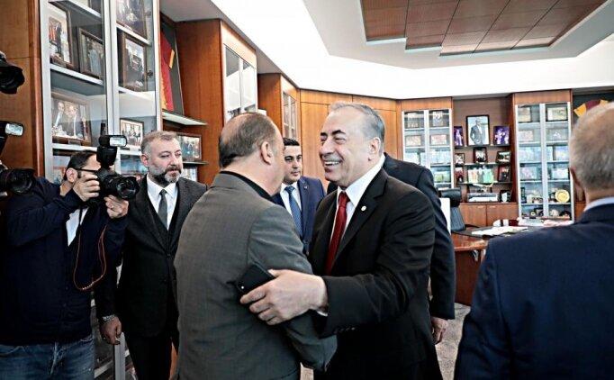 Galatasaray'da dev zirve: Fatih Terim ve Mustafa Cengiz!