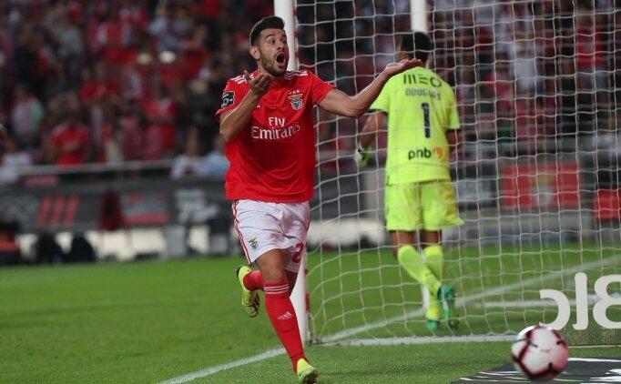 Benfica rahat başladı, zor bitirdi! 5 gol...
