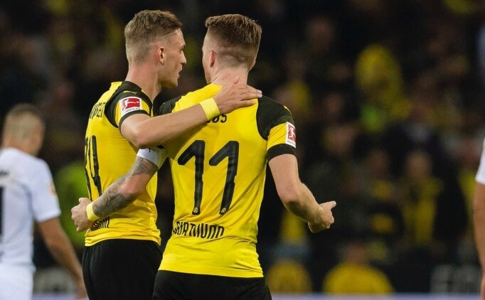 Dortmund evinde sürprize izin vermedi! Frankfurt...