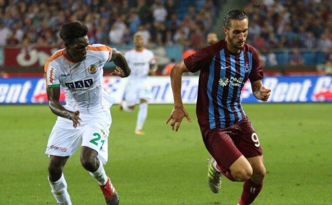 Trabzonspor ile Alanyaspor 5. kez karşılaşacak